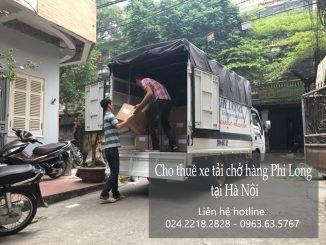 Cho thuê xe tải theo tháng tại phố Trần Khát Chân