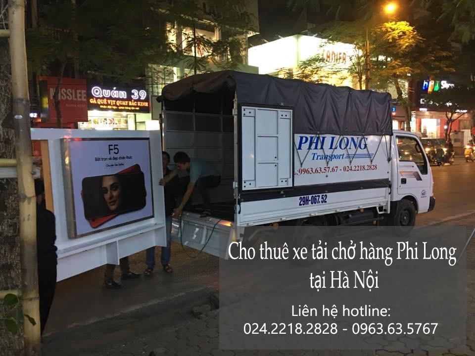 Cho thuê xe tải chuyển nhà tại phố Quỳnh Đô