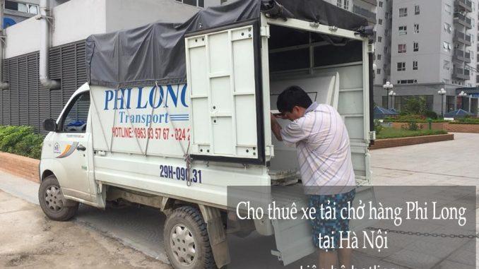 Dịch vụ xe tải vận chuyển Phi Long tại phố Trấn Vũ