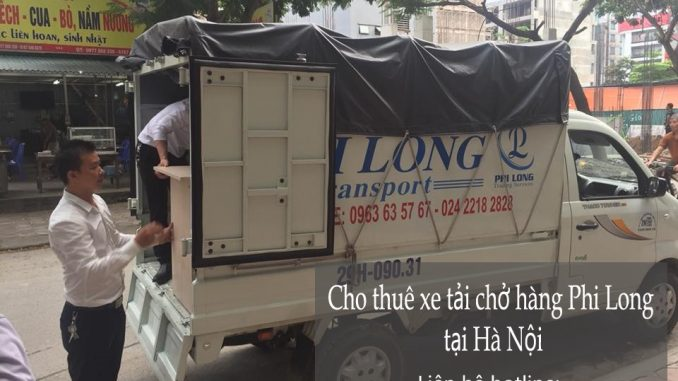 Dịch vụ cho thuê xe tải tại phố Đoàn Trần Nghiệp