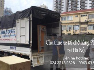 Dịch vụ taxi tải Phi Long tại phố Nguyễn Duy Dương