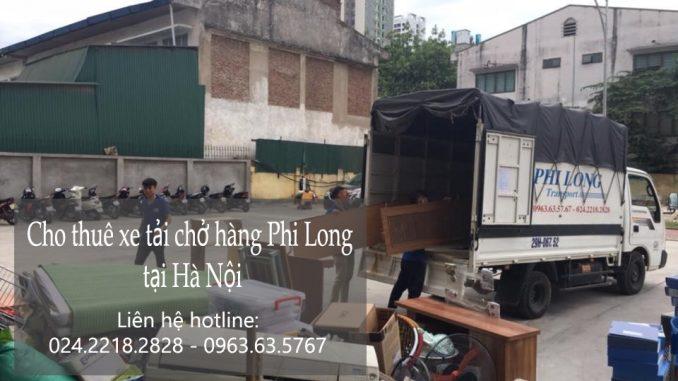 Dịch vụ cho thuê xe tải vận chuyển tại phố Phan Chu Trinh