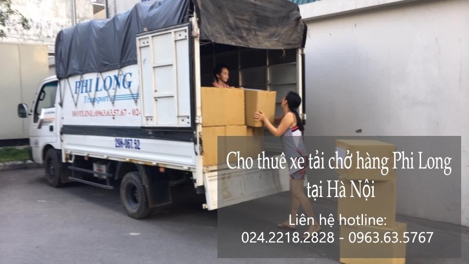 Dịch vụ taxi tải Phi Long tại phố Khuyến Lương