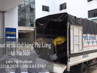 Dịch vụ taxi tải Phi Long tại phố Quảng An