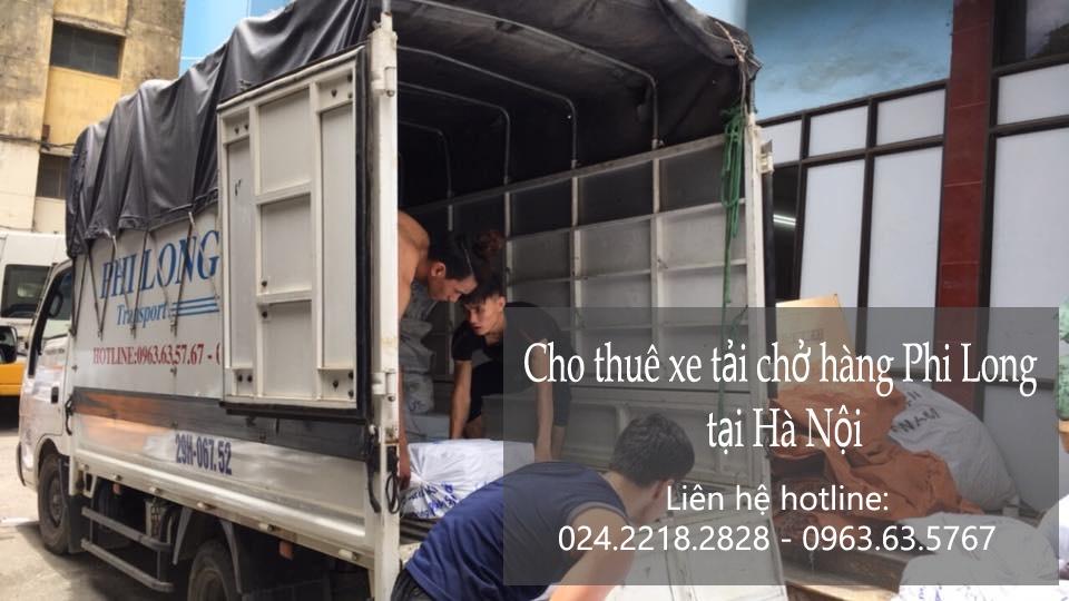Dịch vụ taxi tải Phi Long tại phố Tố Hữu 2019