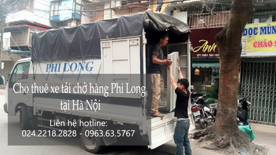 Dịch vụ taxi tải Phi Long tại phố Nguyễn Khắc Nhu