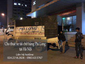 Dịch vụ xe tải vận chuyển tại phố Trung Hòa