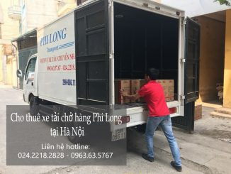 Dịch vụ xe tải vận chuyển tại phố Trần Duy Hưng