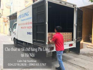 Cho thuê xe taxi tải tại phố Trung Kính