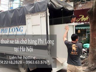 Dịch vụ xe tải vận chuyển tại phố Hoàng Đạo Thúy