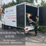 Cho thuê xe tải chở hàng tại khu đô thị Linh Đàm