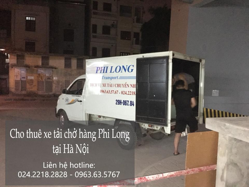 Dịch vụ taxi tải Phi Long tại phố Nguyễn Đình Thi