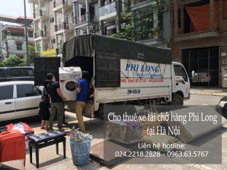 Cho thuê xe tải chở hàng giá rẻ tại phố Hàng Thiếc