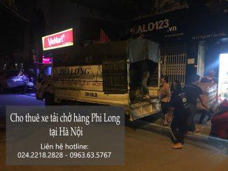 Chở hàng thuê bằng xe tải tại khu đô thị Ciputra