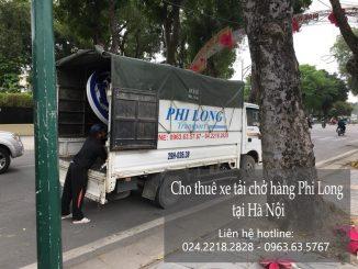 Cho thuê xe tải chở hàng tại đường Giải Phóng