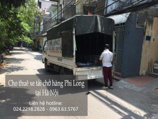 Cho thuê xe tải vận chuyển tại phố Trần Kim Xuyến