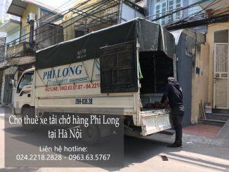 Dịch vụ cho thuê xe vận chuyển tại phố Trung Yên