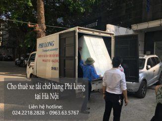 Dịch vụ cho thuê xe tải Phi Long tại phố Triệu Việt Vương