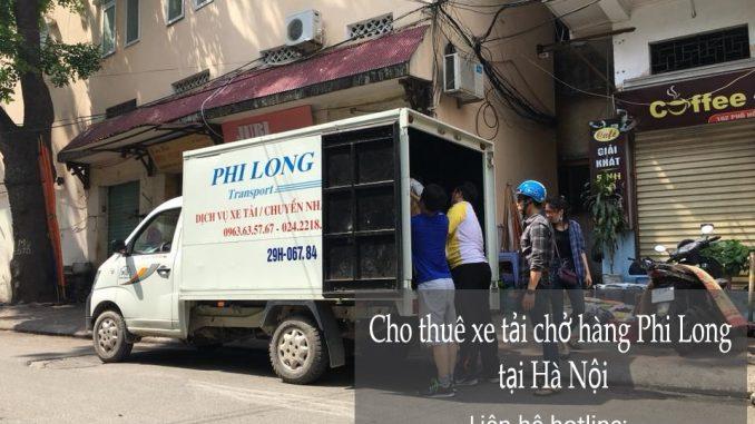 Dịch vụ taxi tải Phi Long tại phố Lê Trực