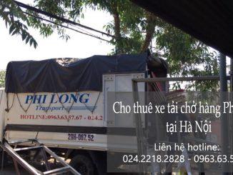 Dịch vụ xe tải Phi Long tại phố Đại La