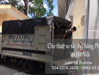 Thuê xe vận chuyển Phi Long tại phố Phan Huy Ích