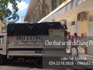Dịch vụ xe tải Phi Long tại phố Yên Ninh