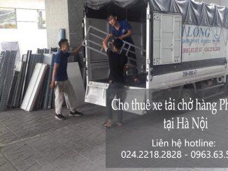 Dịch vụ cho thuê xe tải Phi Long tại phố Trần Cao Vân