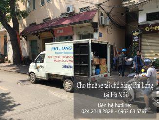 Dịch vụ cho thuê xe tải vận chuyển tại phố Nguyễn Siêu