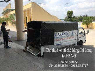 Dịch vụ cho thuê xe taxi tải Phi Long tại phố Lý Thường Kiệt