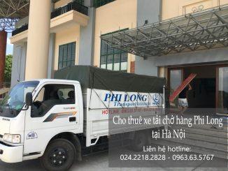 Thuê xe chuyển đồ Phi Long tại phố Đại La