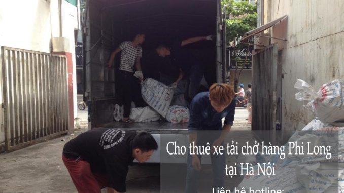 Taxi tải Phi Long tại phố Đốc Ngữ