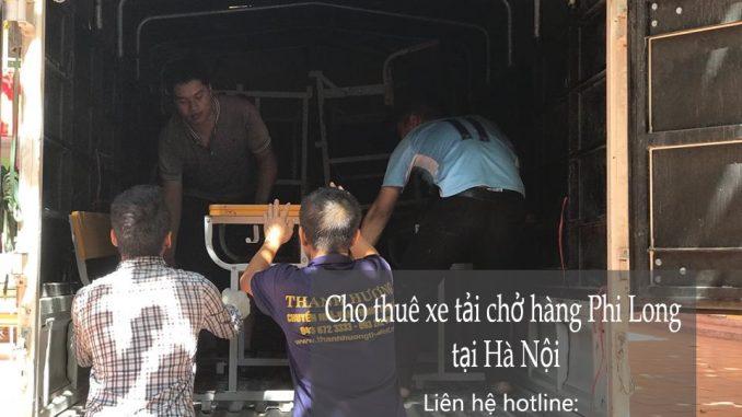 Taxi tải Phi Long tại phố Hàng Bạc
