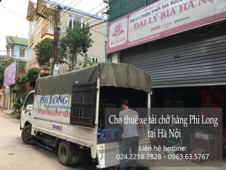 Dịch vụ taxi tải Phi Long tại phố Vũ Hữu 2019