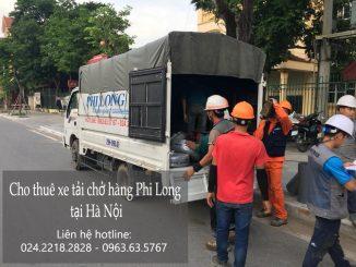 Dịch vụ taxi tải Phi Long tại phố Nguyễn Như Đổ
