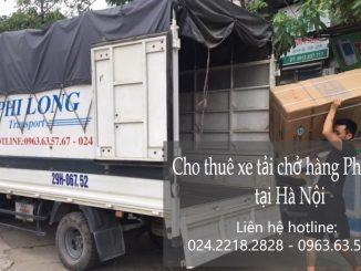 Taxi tải Phi Long tại phố Trường Lâm