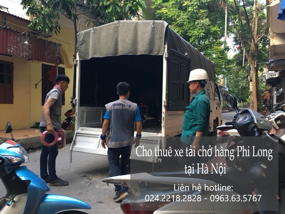 Dịch vụ xe tải nhỏ chở hàng chuyên nghiệp tại phố Nguyễn Cơ Thạch
