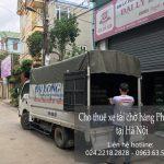 Dịch vụ taxi tải Phi Long tại phố Mai Động