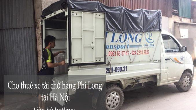 Dịch vụ taxi tải Phi Long tại phố Hương Viên