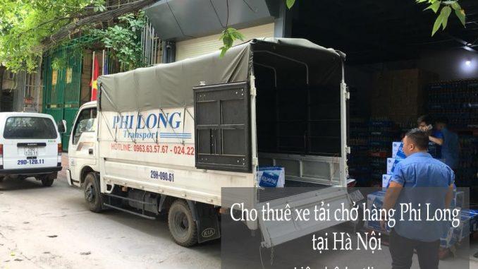 Dịch vụ taxi tải Phi Long tại phố Láng Hạ