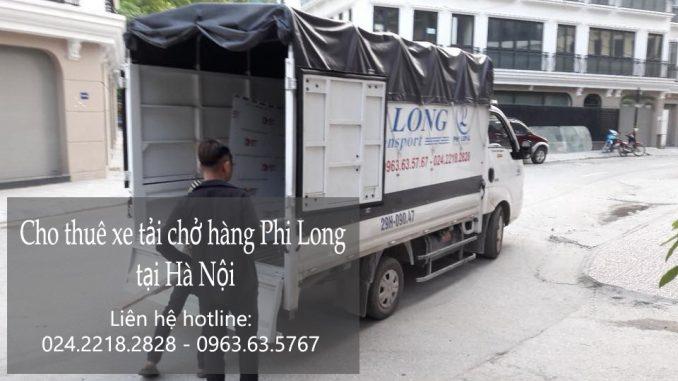 Dịch vụ taxi tải Phi Long tại phố Bưởi