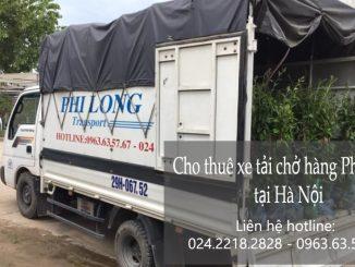 Dịch vụ cho thuê xe tải Phi Long tại phố Lạc Chính