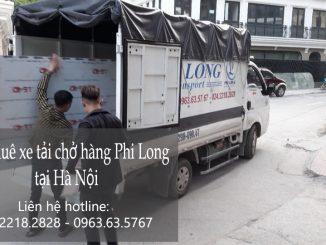 Dịch vụ xe tải vận chuyển tại phố Thọ Tháp