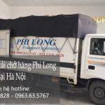 Dịch vụ taxi tải Phi Long tại phố Chùa Bộc