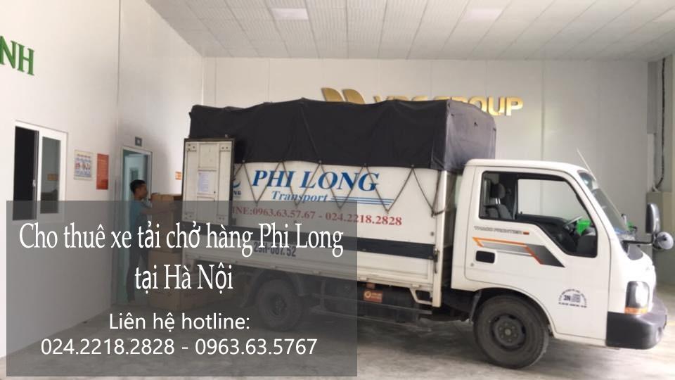 Dịch vụ xe tải vận chuyển giá rẻ tại phố Nghĩa Dũng