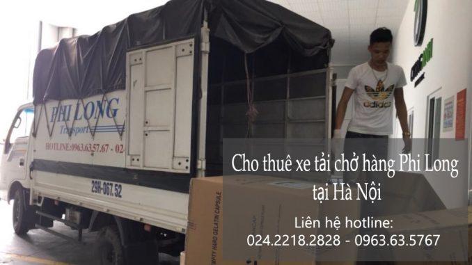 Dịch vụ cho thuê xe tải Phi Long tại phố Phan Văn Đáng