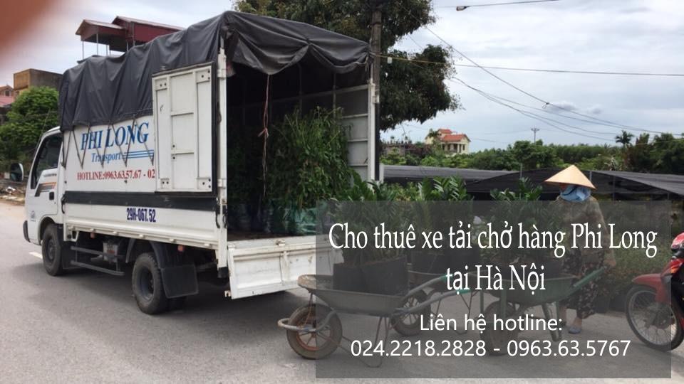 Dịch vụ xe tải chở hàng Phi Long tại phố Phú Lãm