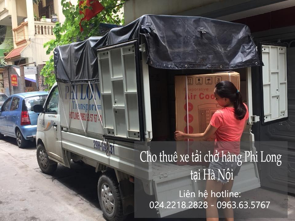 Dịch vụ cho thuê xe tải vận chuyển tại phố Phú Lương