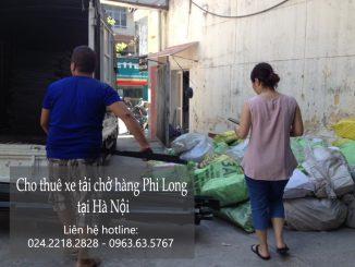 Dịch vụ cho thuê xe tải vận chuyển tại phố Hàng Bè