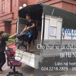 Dịch vụ cho thuê taxi tải Phi Long tại phố Hàng Bún