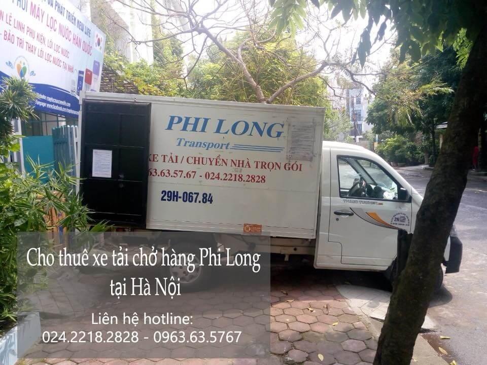 Dịch vụ taxi tải chở hàng tại phố Hàng Dầu